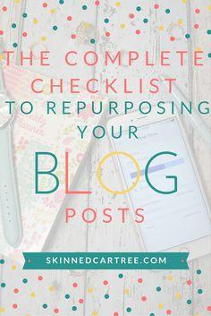 repurpose your blog