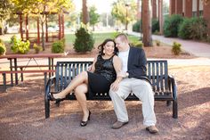 engagement photography, black and white outfit, sitting