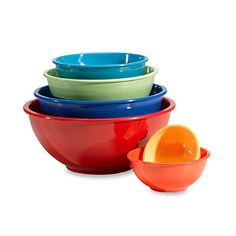 Melamine 6-Piece Mixing Bowl Set - BedBathandBeyond.com