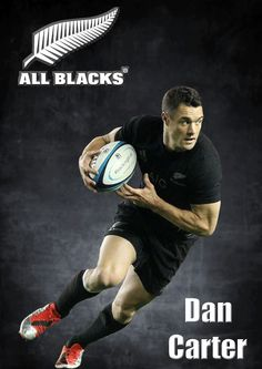 Dan Carter - All Blacks rugby Rugby Union Teams, All Blacks Rugby Team, Nz All Blacks, Rugby Sport, Rugby League, Rugby Players, Richie Mccaw, Dan Carter, Rugby Games