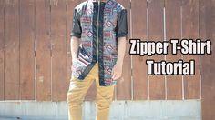 DIY: Zipper T-shirt | From Scratch #21