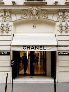 .Chanel, the store in Paris where Marc liked the sound of the alarms so much he set them off... Three times!!!!!
