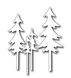 Frantic Stamper Precision Dies Tall Pine Trees (set of 2 dies) .my new fav for christmas scenes Christmas Tree Branches, Christmas Wood, Christmas Tree Ornaments, Christmas Crafts, Christmas Decorations, Christmas Scenes, Tree Crafts, Wood Crafts, Paper Crafts
