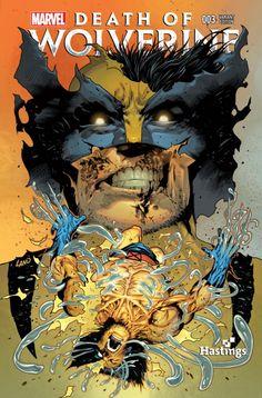 Death of Wolverine comic books Wolverine Old Man Logan, Death Of Wolverine, Best Comic Books, Comic Books Art, Book Art, Fantastic Four, Marvel Art, Marvel Comics, Cosmic Comics