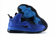 factory authentic 0b94b 68060 Nike New Lebrons Lebron 9 Sample Royal Blue Black i off.