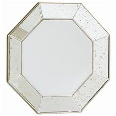 Interior HomeScapes offers the Octagonal Mirror with Antiqued Mirror Frame by Caracole. Visit our online store to order your Caracole products today. Wall Mirror With Shelf, Wall Mirrors Entryway, Rustic Wall Mirrors, Round Wall Mirror, Mirror Set, Mirror Shelves, Floor Mirrors, Mirror House, Mirror Bedroom