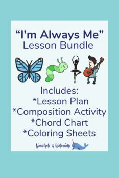 """""""I'm Always Me"""" Lesson Bundle Music Teachers, Music Classroom, Music Education, Narwhals, Social Emotional Learning, Kids Songs, School Counseling, Lesson Plans, Curriculum"""