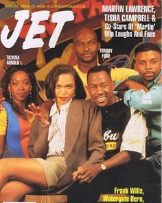 Cast Of Martin, Martin And Gina, Martin Lawrence Show, Martin Show, Black Tv Series, Tichina Arnold, Black Sitcoms, Throwback Songs, Jet Magazine