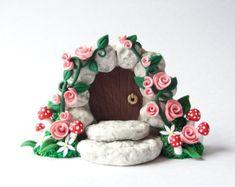 handmade fairy door - Google Search