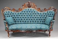 Home Furniture Store Antique Furniture Couch Victorian Sofa, Victorian Furniture, Victorian Decor, Antique Furniture, Antique Couch, Antique Beds, Hardwood Furniture, Antique Dishes, Antique Wood