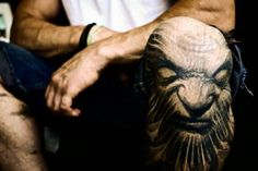 25 Badass Knee Tattoos - Tattoodo.com