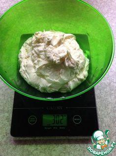 Французский масляный крем для эклеров и тортов ингредиенты