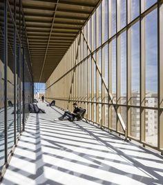 Centre culturel de Bastia - Cap Corse par les agences Devaux & Devaux Architectes (Paris) et Atel'erarchitecture (Bastia)