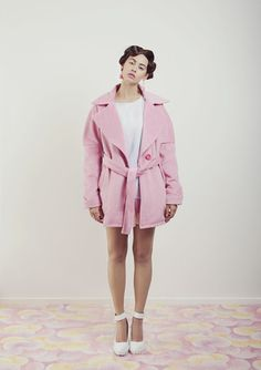 Candy Coat – WND.LND First Down, Scream, Candy, Shirt Dress, Silk, My Style, Coat, Shirts, Dresses