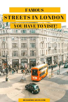 Apr 2019 - This guide gives you the most famous streets in London. From politics, music and the best shopping there is, these are the best streets of London. Europe Travel Guide, Travel Guides, Travel Destinations, Travel Advice, London Activities, London Travel, Travel Uk, Travel Plan, Family Travel