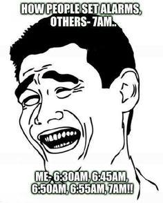 my alarms