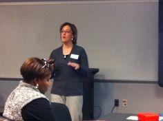 Social Studies Supervisor, Maria Tarasuk, supporting ELLs through collaborative leadership in ESOL PLC.