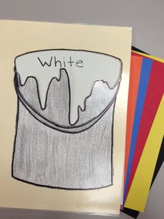 """(Not) Flannel Friday: """"Mrs. Mark's Favorite Color"""" File Folder Story Felt Stories, Stories For Kids, Learning Stories, Flannel Board Stories, Flannel Boards, Paint My Room, Colors For Toddlers, Preschool Boards, All About Me Preschool"""