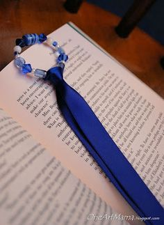 Simple Beaded Bookmark TUTORIAL