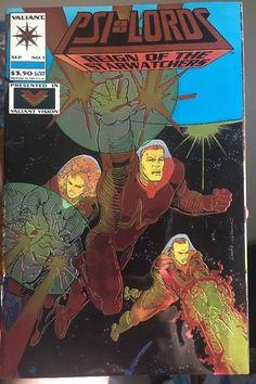 PSI-LORDS #1 VALIANT COMICS 1994 CHROMIUM COVER