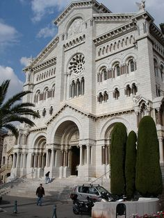 Cathédrale de Monaco, Condamine, Monaco  Princesses Grace, née Grace Kelly is buried in the marble floor in the church.