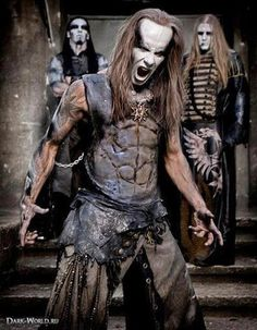 Behemoth!!! Polish extreme death metal band.