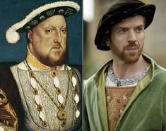 Damian Lewis as King Henry VIII in Wolf Hall (2015) costume designer Joanna Eatwell