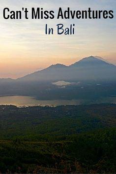 Can't Miss Adventures & Activities In Bali