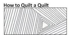 107 Quilts: Tutorial: How to Quilt a Quilt.  Brilliant!