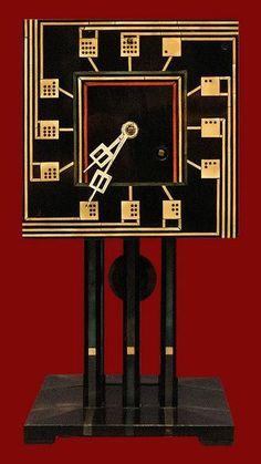Charles Rennie Mackintosh Domino Clock