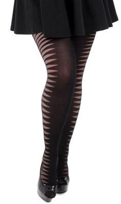 2b67482018418 31 Best Hosiery (plus size) images | Socks, Plus size women, Black ...