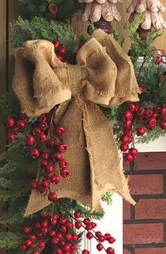 Χριστουγεννιάτικη διακόσμηση σπιτιού με φυσικά υλικά-4