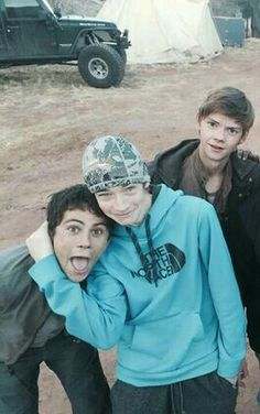 thomas' face here is priceless<<<Thomas's face is always priceless