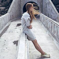 #iceland #editorial for #superiormag #photography Lina Zangers #styling Jennifer Kalaitzis #model Olöf #eskimomodels