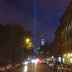 #Wawrinka #NewYorkCity #Manhattan #WTC #WTC911 @Sept11Memorial #TributeInLight #BriceDailyPhoto
