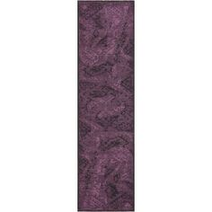Safavieh Palazzo Black/ Purple Polypropylene/ Over-dyed Chenille Rug (2' x 7'3) | Overstock.com Shopping - The Best Deals on Runner Rugs
