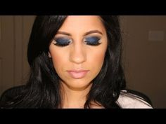Lorac Pro Palette 2: Blue Smokey Eyes - YouTube