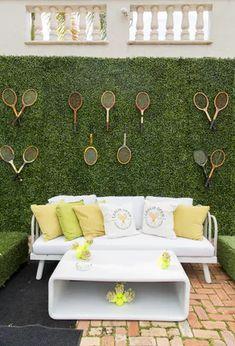 Tennis Wallpaper, Tennis Party, Balloon Decorations, Tennis Decorations, 60th Birthday Party, Branding, Party Centerpieces, Plan Design, Event Decor