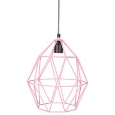 Jut en Juul Lifestyle for Kids : Hanglamp Wire - Pink Roze