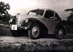 Pentelényi János, a Csepel Motorkerékpárgyár konstruktőre 1945-1947 között készített kisautója, amely végül sajnos nem került sorozatgyártásba.