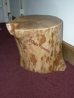 This is our stumpy :-) Similiar stumps available to order @ www.planks2tops.vpweb.co.uk