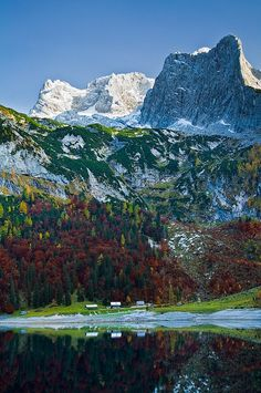 Hinterer Gosausee by ~AndreasResch  Austria  Beautiful Austria  http://www.travelandtransitions.com/austria-travel/