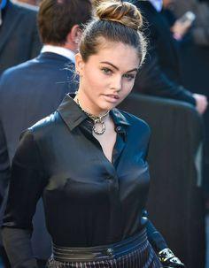 Thylane Blondeau / Défilé Chanel / Paris Fashion Week