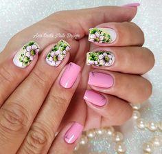 Glitter, Finger Nails, Beauty, Glitter Fade Nails, Flower Nails, Nail Polish Colors, Nail Bling, Crochet Bedspread, Brush Strokes