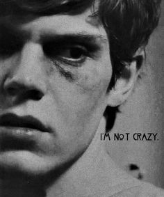 Find images and videos about american horror story, ahs and evan peters on We Heart It - the app to get lost in what you love. Evan Peters, Movies And Series, Movies And Tv Shows, Photomontage, Ahs Asylum, Tate And Violet, American Horror Story Asylum, Kit Walker, My Sun And Stars