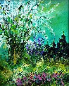 "Saatchi Online Artist: Pol Ledent; Oil, 2013, Painting ""Seringa"""