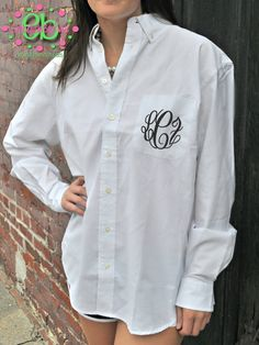 Monogrammed Oversized Mens Shirts for by embellishboutiquellc, $31.95