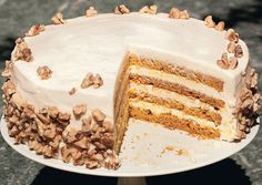 Four-Layer Pumpkin Cake with Orange-Cream Cheese Frosting - Bon Appétit