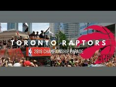 As the floats roll in, all of your favorite celebrating like Champions. Also, catch a sne. Nba Championships, Basketball, Toronto Raptors, A Day To Remember, Toronto Canada, 17 Juni, Youtube, June, Canada