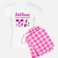 SNAZZY 16TH Pajamas Fun and fabulous Sweet 16th and 16th birthday personalized Tees and gifts. http://www.cafepress.com/jlporiginals/6515973 #16thbirthday #16yearsold #Happy16thbirthday #16thbirthdaygift #16thbirthdayideas #Sweet16 #Personalized16th